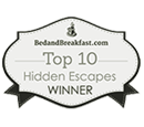 BedandBreakfast.com Top 10 Hidden Escapes