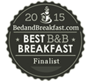 BedandBreakfast.com Best B&B Breakfast Finalist 2015