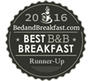 BedandBreakfast.com Best B&B Breakfast Finalist 2016