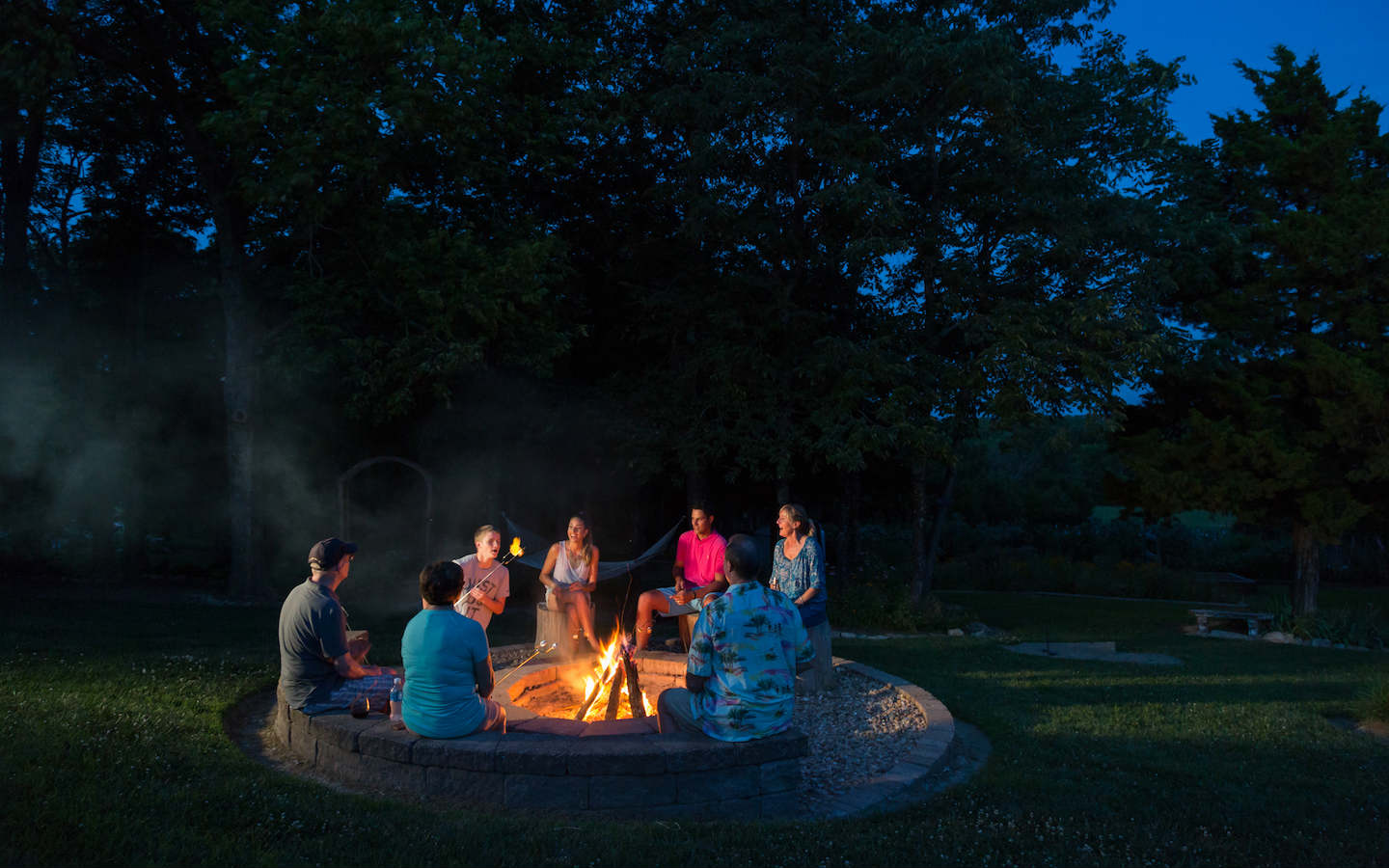 Fireside Gatherings at our in Kansas Event Center