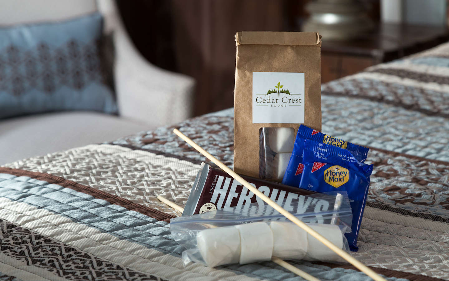 S'mores Kits included for all Guests
