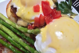 Crab Cakes Benedict at Kansas B&B
