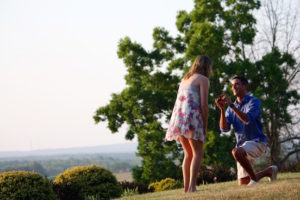 Unique proposal ideas in the Kansas countryside