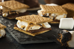 S'mores for a holiday party near Kansas City
