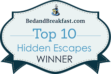 BedandBreakfast.com Top 10 Hidden Escapes winner