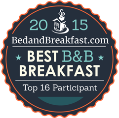 BedandBreakfast.com Best B&B Breakfast 2015